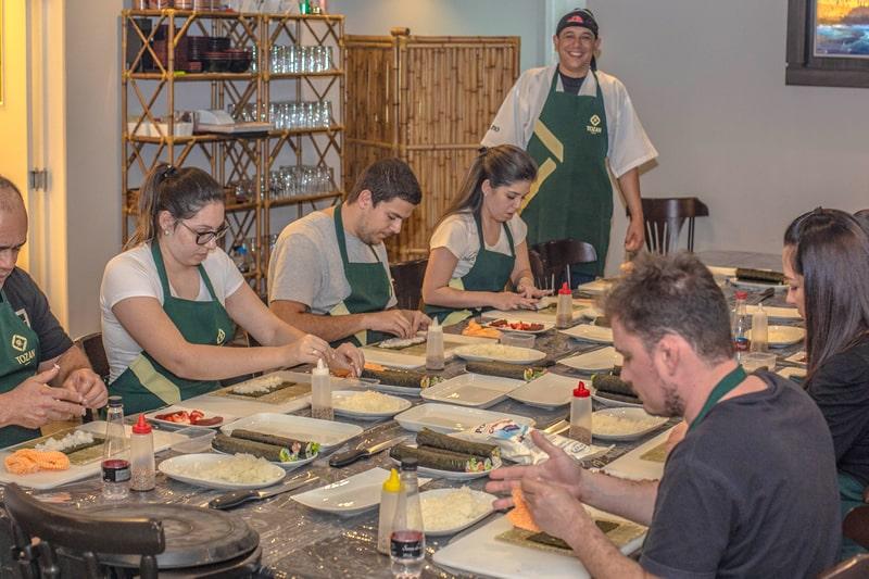 Curso de Sushi - Shizen Curitiba5